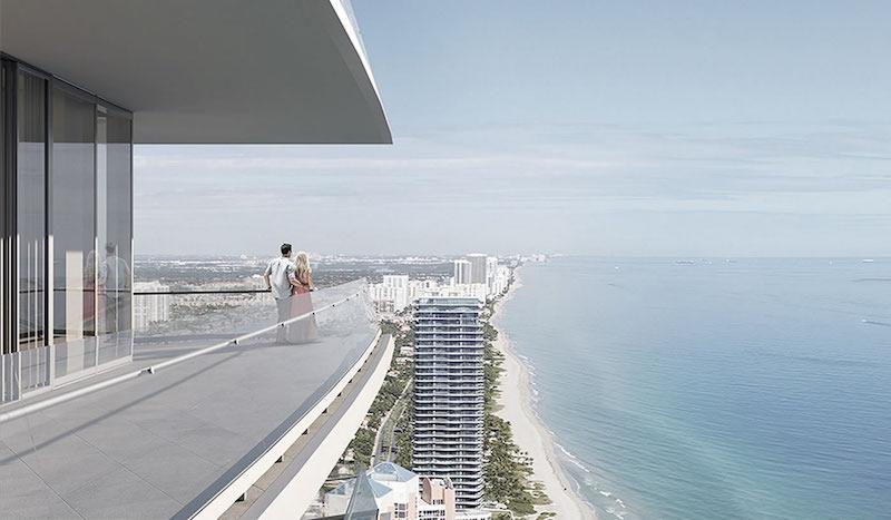 Armani Residence Balcony