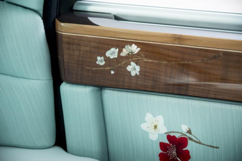 Japanese Design Detail Of The Rolls Royce Serenity