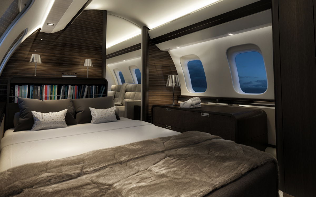 Bombardier global 7000 for Bedroom express