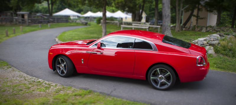 The Red Wraith Four Days In A Spectacular Rolls Royce