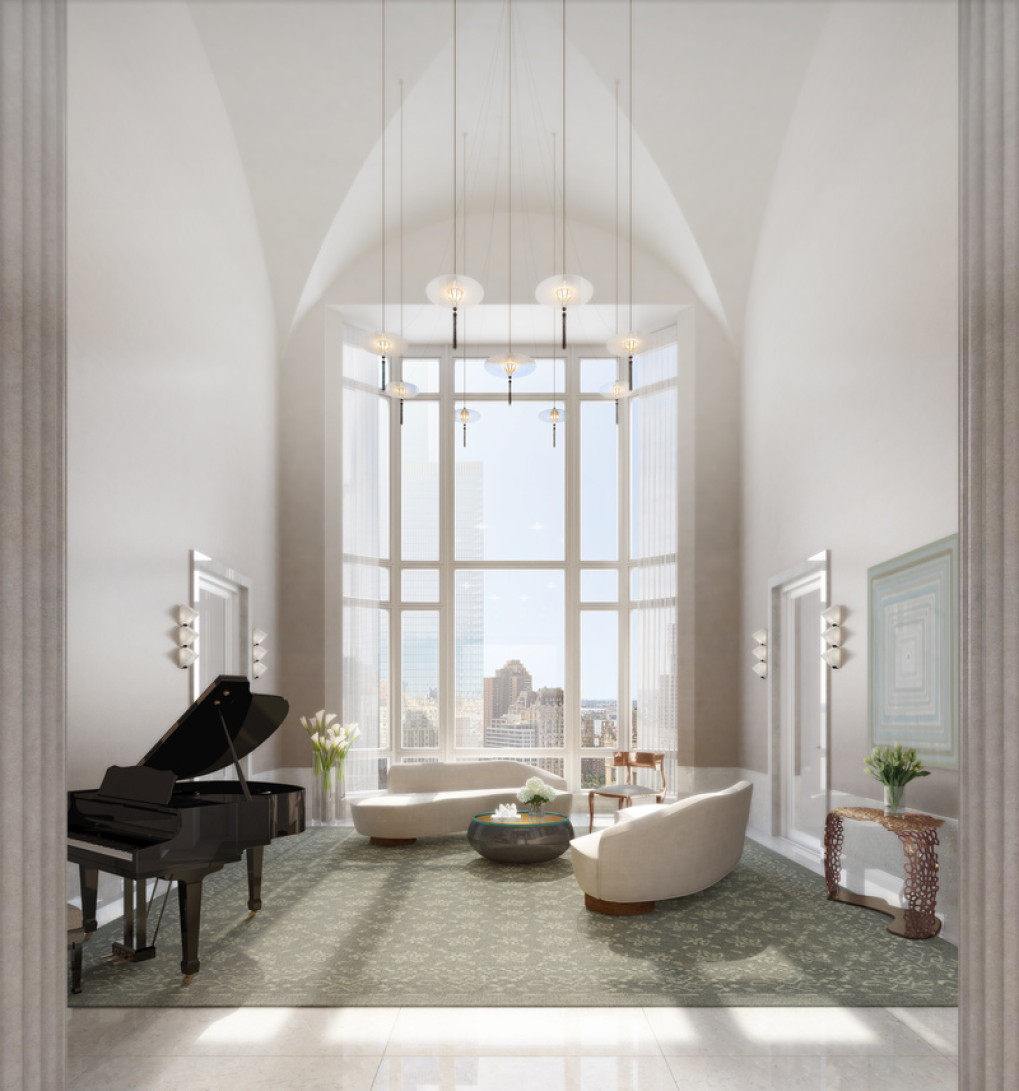 30 Park Place; 99 Church St, New York, NY. Robert A.M. Stern Architects. Silverstien Properties. Rendering by Archpartners