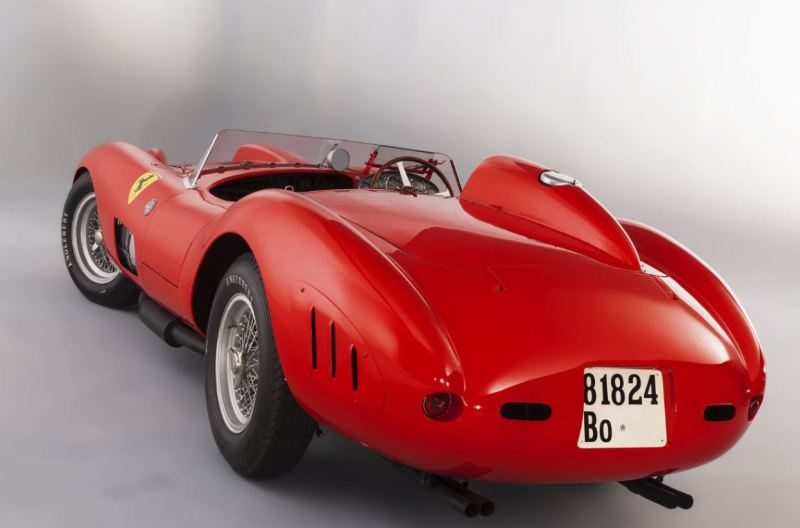 1957 Ferrari 335 S Spider Scaglietti Expected To Sell For 30 Million At Auction